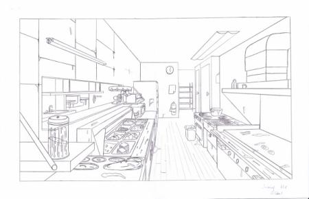 素描平行透视和成角透视怎么画求图