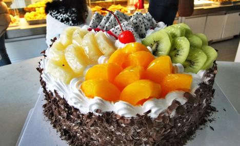金麦蛋糕10英寸蛋糕