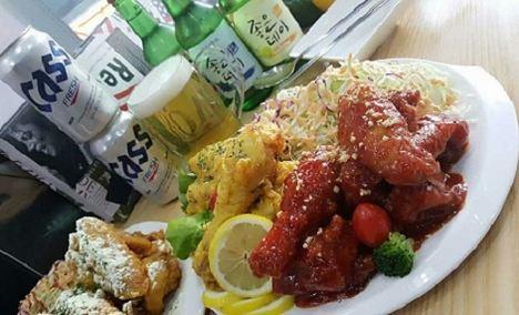 韩国炸鸡啤酒