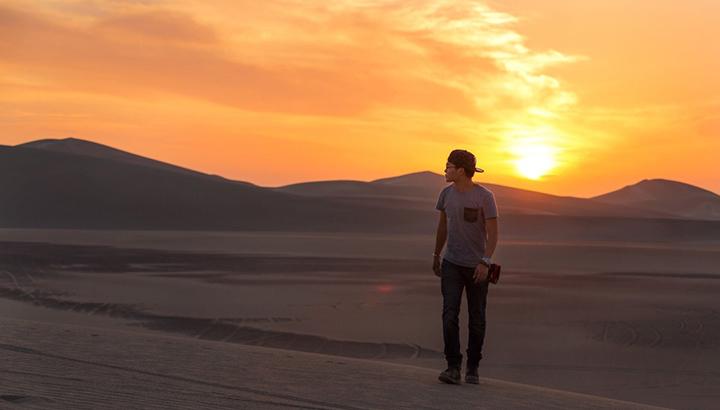 【罗布泊】以沙漠为席,以星空为被