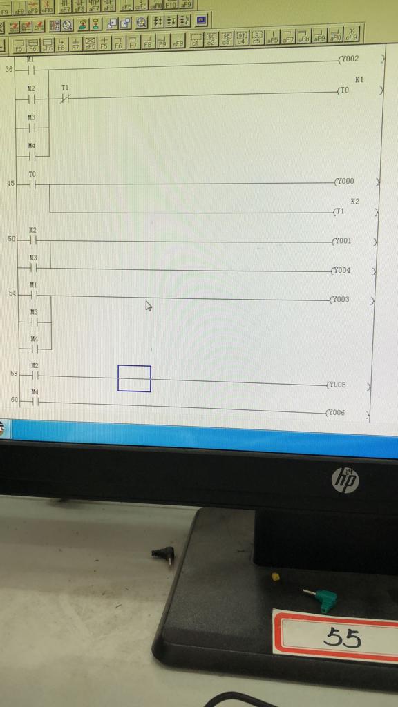 求助三菱plc梯形图