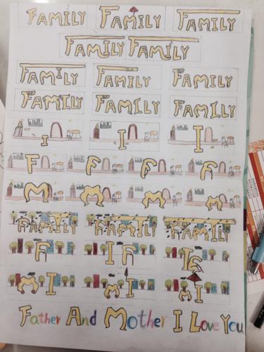 央视family_大家知不知道央视有一个公益广告,关于family的,我把它画成了 ...