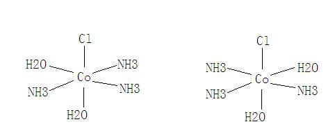 配合物的水和异构