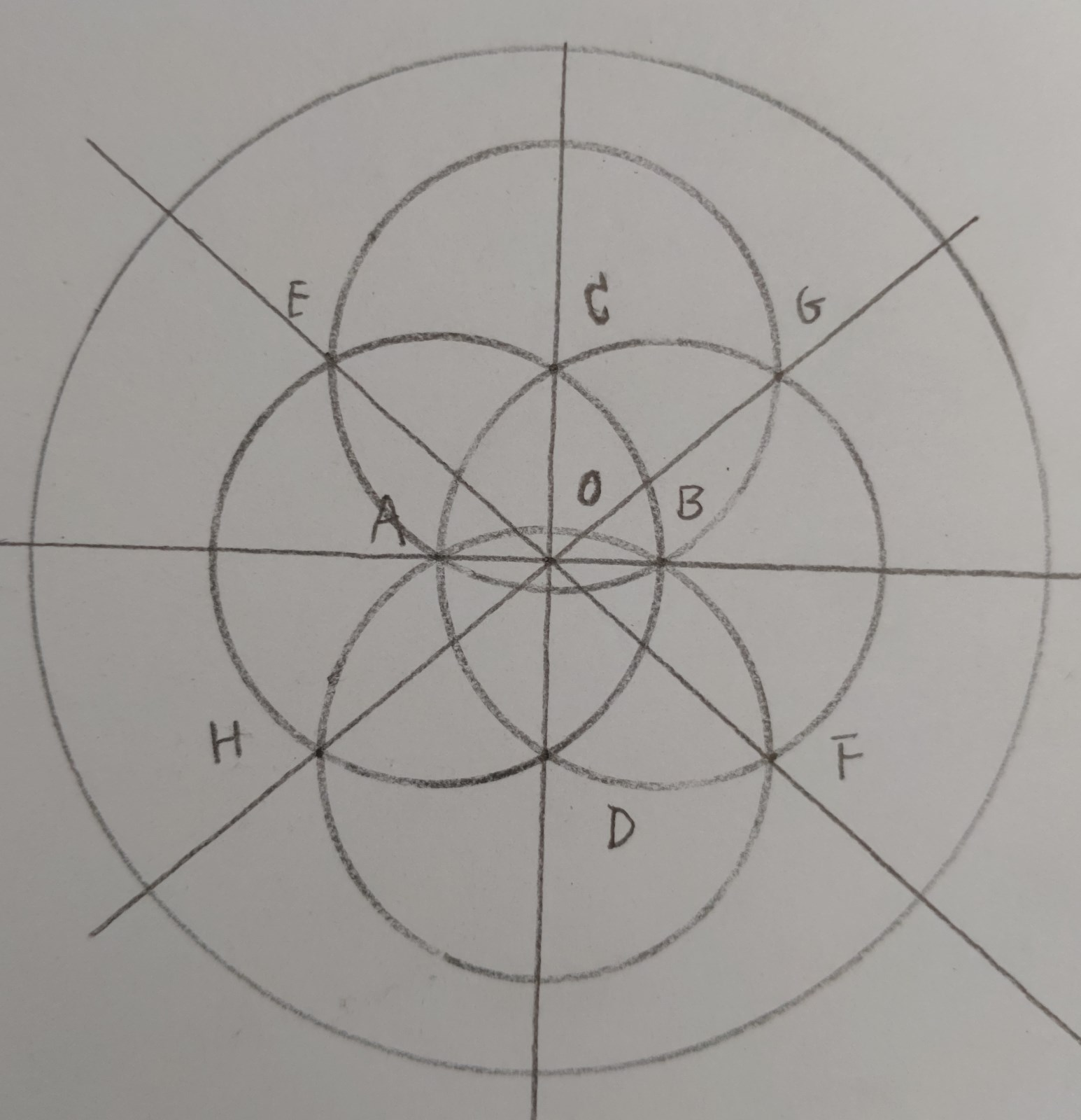 角形 角度 正八