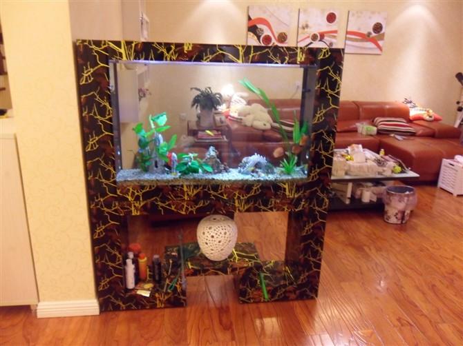 鱼缸做隔断好_可以设计个水族鱼缸当隔断