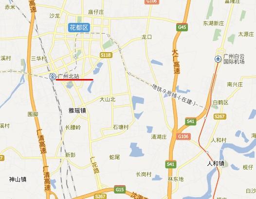 州北站在哪_广州北站在哪