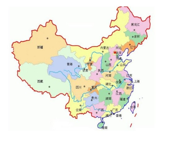 电影太极侠中出现中国地图少西藏?