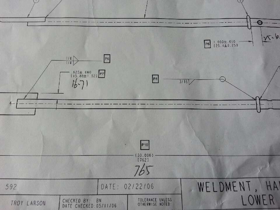 建筑标注符号大全_请教下美国图纸上焊接符号标注的意思,大神求解答:1/4 3/16 啥意思 ...