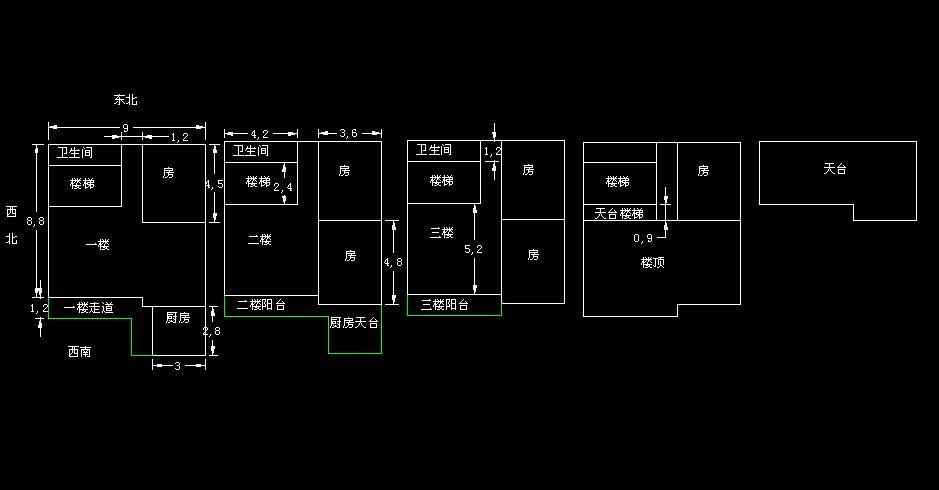 求90平方房子設計圖高手修改
