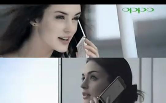 oppo手机广告男主角_求2011新版oppo手机广告女主角名字以及手机名字(女主角见图 ...