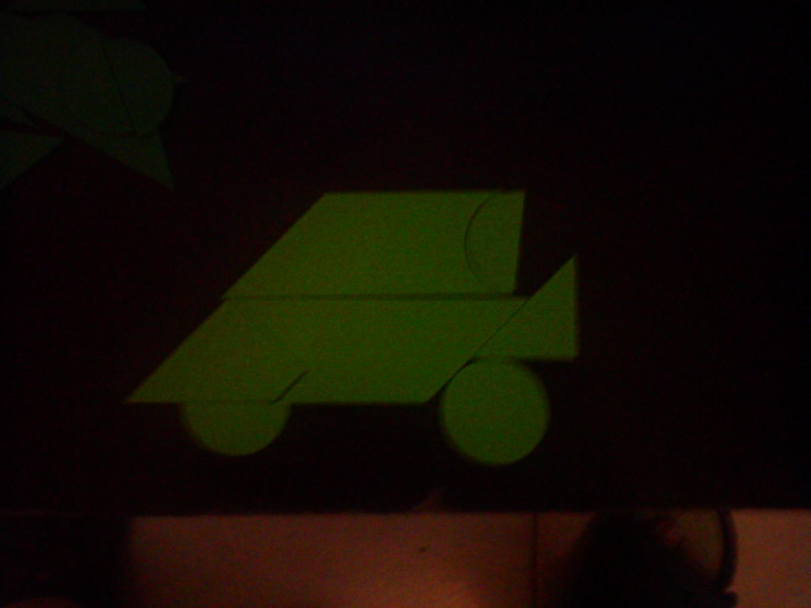 现代智力七巧板轿车