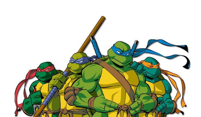忍者神龟人物名字_忍者神龟里四个人的名字叫什么了?_百度知道