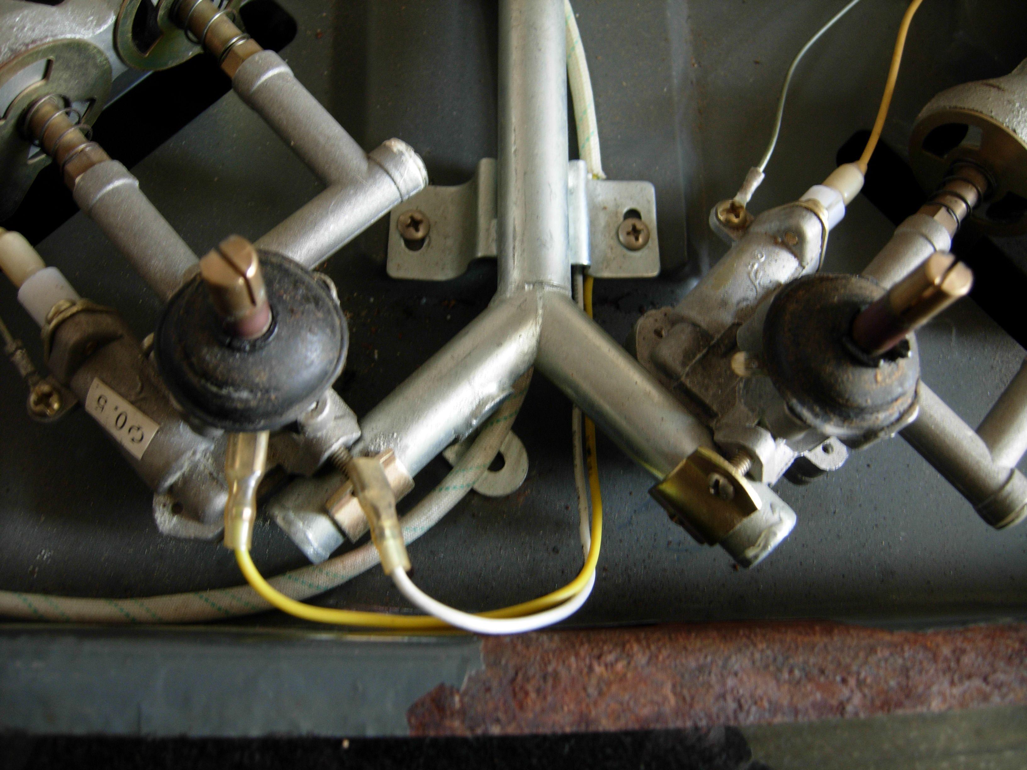 液化气灶的装配图_按下燃气灶旋钮没有点火声_百度知道