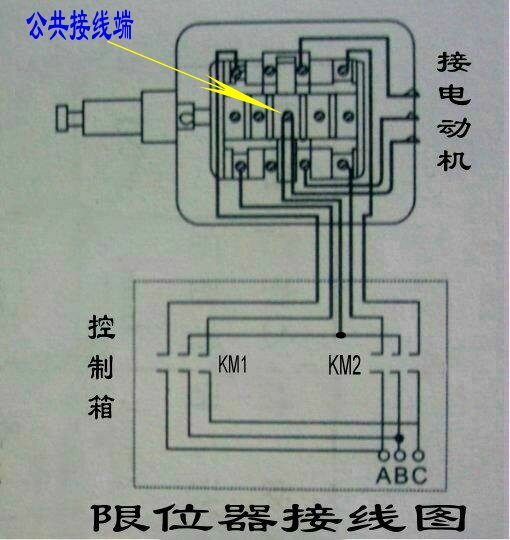 断火限位器工作原理_断火限位器的接线图?和限位器上的五根线,有一根是公共线 ...