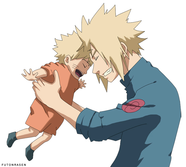 父亲和儿子卡通图片_表现父爱的动漫图片 (最好是小男孩和父亲)_百度知道