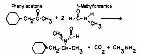 甲胺基苯丙酮合成_苯丙酮和苯基丙酮都可以和甲酰胺反应吗?苯基丙酮是脂肪酮 ...