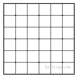 正规围棋棋盘大小_怎么在画板上画一个围棋棋盘_百度知道