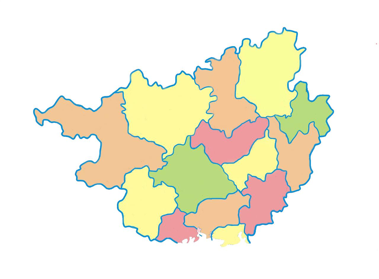 谁有广西行政区划地图