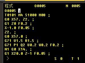 数控车编程G71\/G70的问题 请高手指教为什么