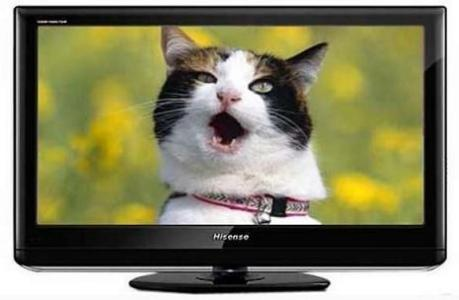 刚买的海信液晶电视机不清晰怎么回事情图片