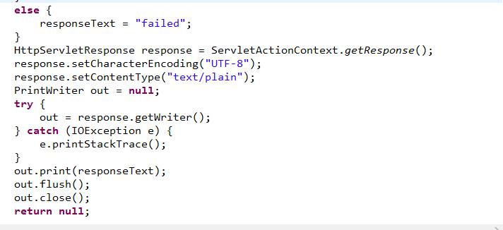 Struts2 ajax传送数据报错ognl ParseException: Encountered