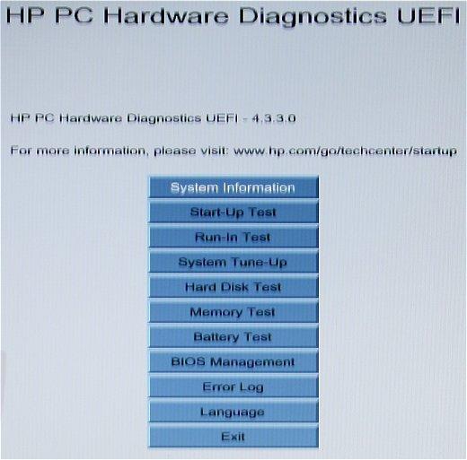 开机出现hp pc hardware diagnostics uefi什么问题_百度知道