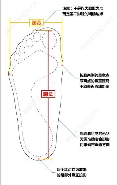 你的脚穿什么尺码英文?