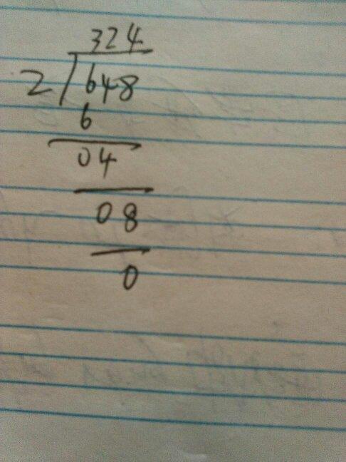 648除36竖式