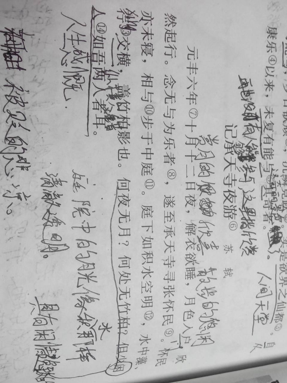 仆初入庐山的文言翻译 仆初入庐山翻译