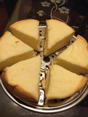 美的电压力锅怎么做蛋糕?