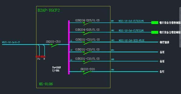 空气开关符号_我要在公司的平面图上画线路图 请问大侠们在图中用什么图标 ...
