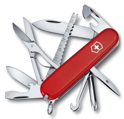 【维氏瑞士军刀】瑞士军刀是维氏好还是威戈的好?