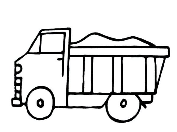 车子的简笔画怎么画 请提供一下步骤图