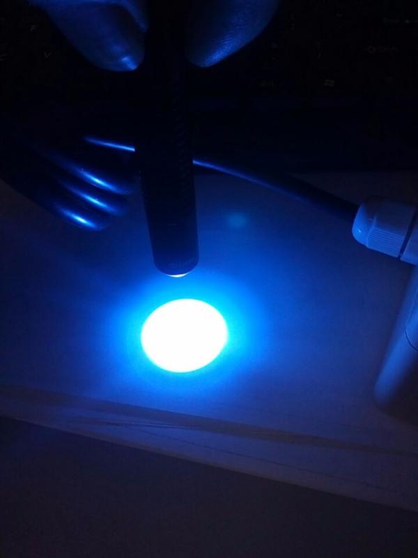 外壳uv光固机_厂家直销欧西曼蓝色外壳uv光固机低温uv光固机
