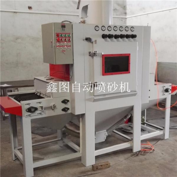 手动喷砂机_变压器红外线隧道炉多功能涂料流水线手动喷砂机