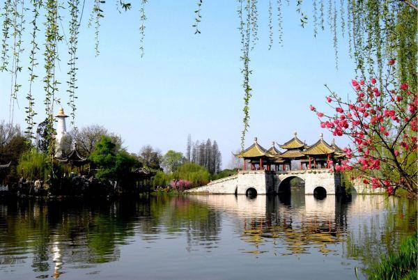 瘦西湖詩詞,古人關于揚州瘦西湖的詩句