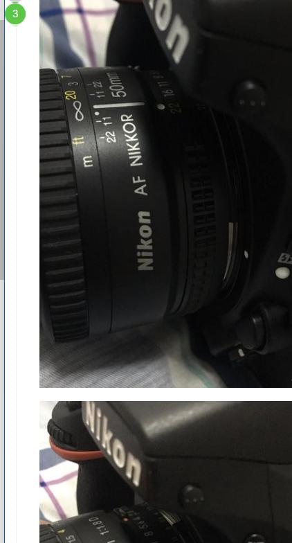 尼康50mm怎么定焦镜头?