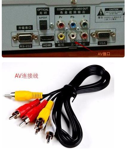 移動數字電視機在AV模式下顯示無信號怎么辦?