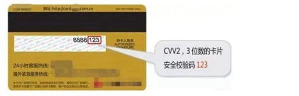 【信用卡安全码】如何查询信用卡安全码