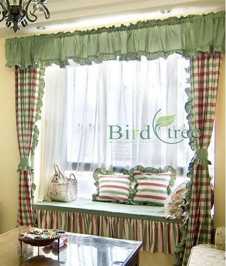 飘窗窗帘款式图_窗帘的造型有哪些带图片_百度知道