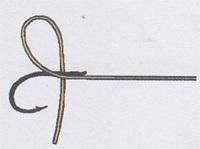 最简单鱼钩的绑法图解   三联