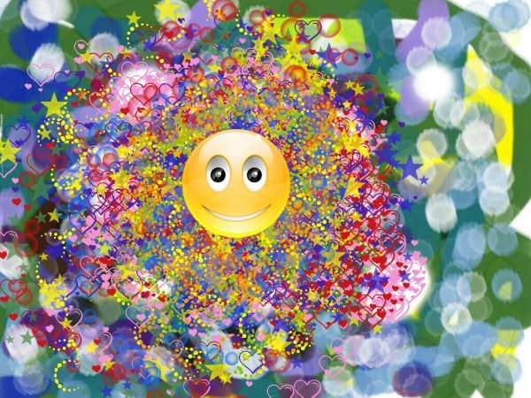 """给你画上一张笑脸作文_画好不好看?那个笑脸和那个笑脸旁边的彩色""""印章""""有没有 ..."""