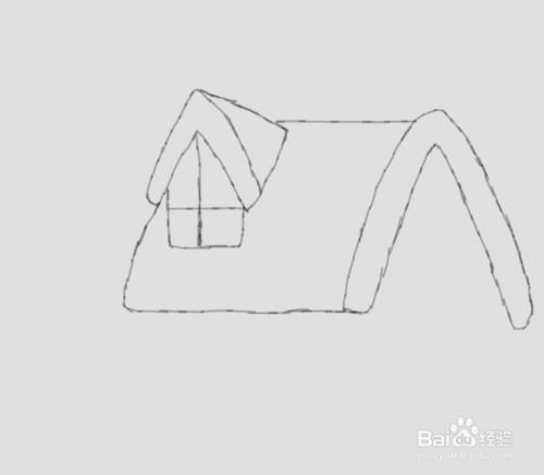 春节屋子是怎样的简笔画