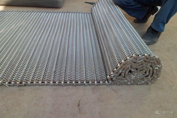 特氟龙网带_厂方供应特氟龙网带耐高温网格输送带
