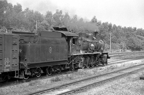 解放型蒸汽机车的解放1型图片