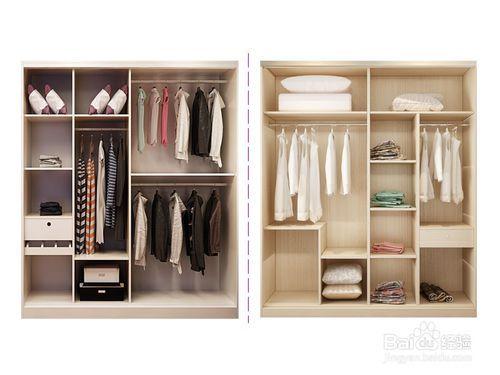 定制衣柜的投影面积是怎么算的?