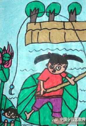 关于感恩老师的绘画_一年级画画以主题我的夏天_百度知道