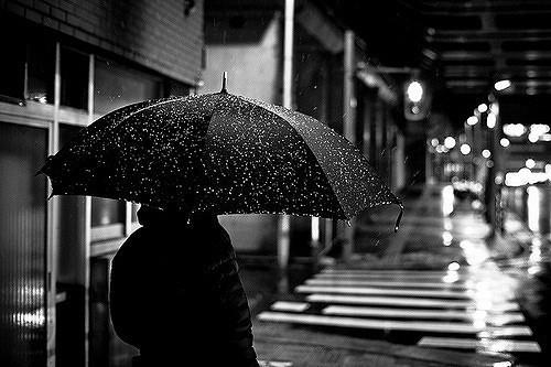 推荐意境美的下雨图片