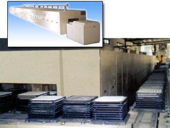 高温隧道式推板炉_系列推板炉_RTL系列高温隧道式推板炉