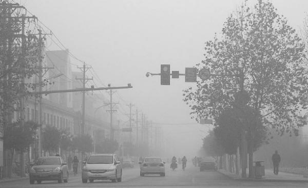 雾霾是什么造成的_雾霾天气形成的主要原因是什么_百度知道